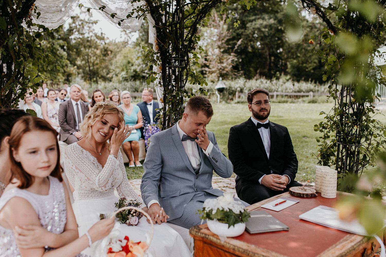 ceremony, wedding, freie trauung, braut, bride, groom, bräutigam, weint
