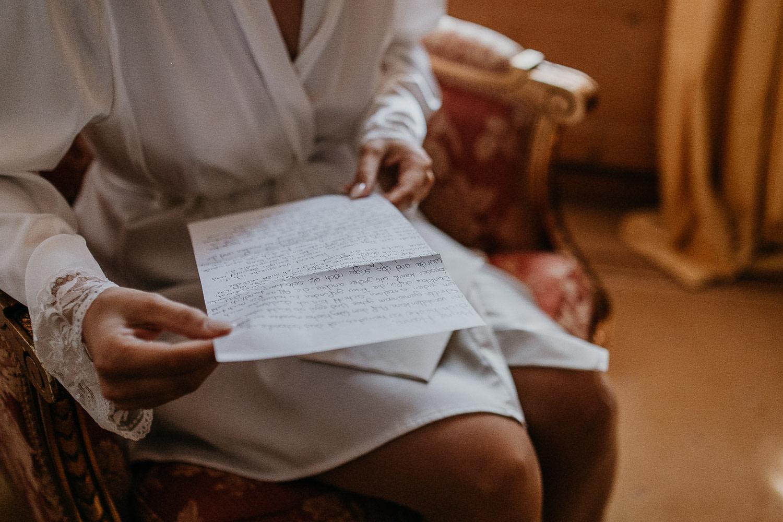 love letter, liebesbrief, hochzeit, getting ready, braut, bride, letter